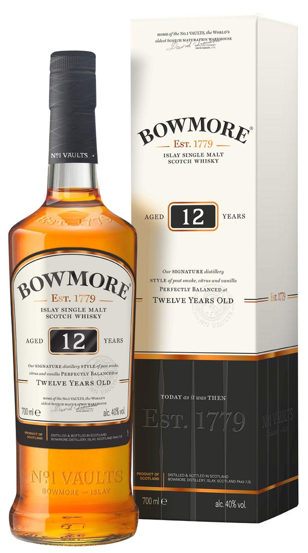 Bowmore 12 Jahre - Single Islay Malt - 40% Vol.  0,70 l