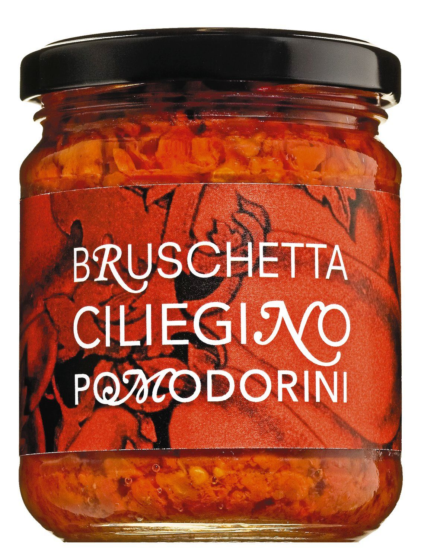 Bruschetta Ciliegino Pomodorini - Bruscetta aus Kirschtomaten, 200g - Il Pomodoro Piu Buono, Italien