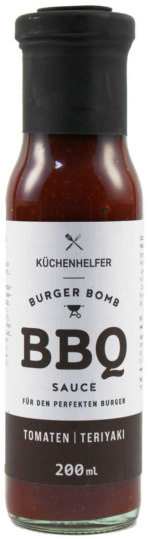 Burger Bomb BBQ Sauce - Teriyaki 200ml - Bremer Feinkost