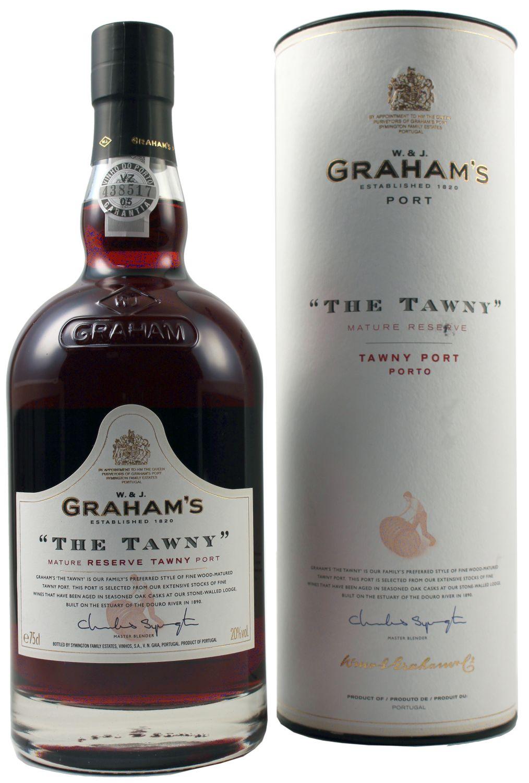 The Tawny - Grahams Port - 20% Vol.  0,75 l