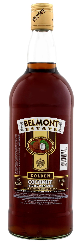 Belmont Estate - Golden Coco Rum - 40% Vol. 1,00 l