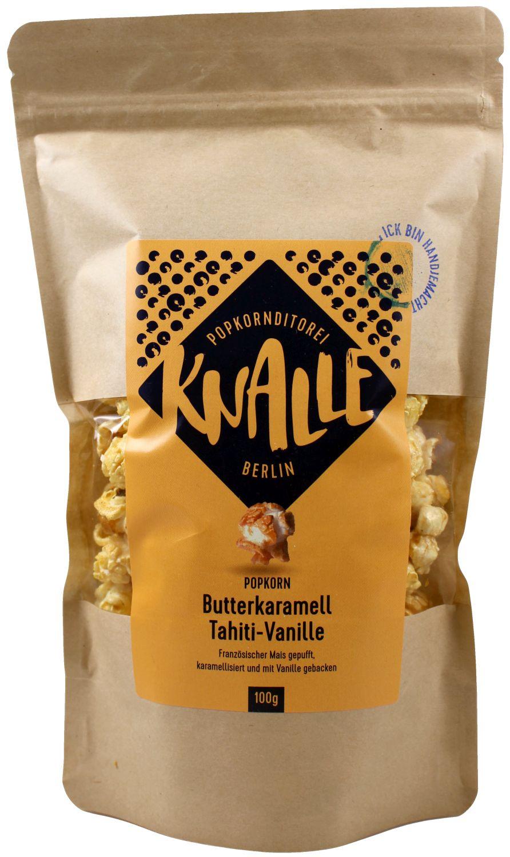 Butterkaramell Tahiti Vanille - Popcorn  100g - Knalle, Berlin