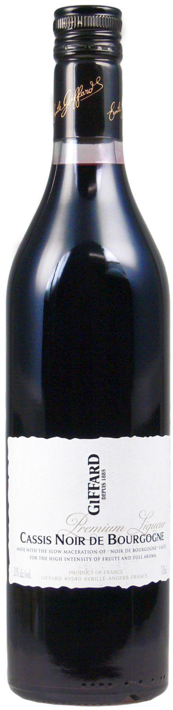 Cassis Noir de Bourgogne - Giffard Premium Likör - 20% Vol.  0,70 l