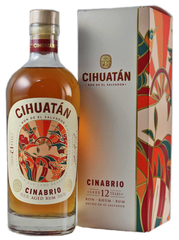 Cihuatan Rum Solera 12 - El Salvador - 40% Vol.  0,70 l