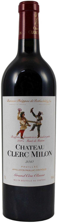 2010er Chateau Clerc-Milon - Rothschild - 5eme Cru Classe Pauillac AC  0,75 l