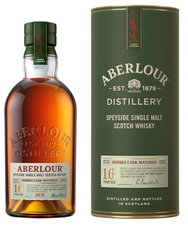 Aberlour 16 Jahre - Single Highland Malt Whisky - 40% Vol.  0,70 l