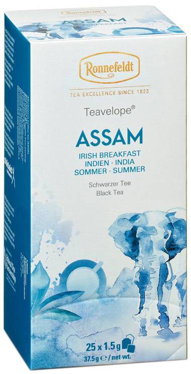 Assam Teavelope - schwarzer Tee in Teebeuteln - Ronnefeldt  25 x 1,5g