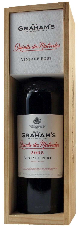 "Grahams - ""Dos Malvedos"" Vintage Port - 20% Vol.  0,75 l"