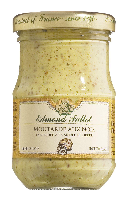 Moutarde aux noix - Dijonsenf mit Nüssen 100ml - Edmond Fallot