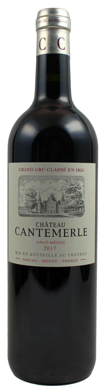 2017er Chateau Cantemerle - 5eme Cru Classe - Haut Medoc AC  0,75 l
