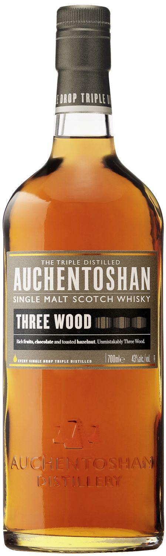 Auchentoshan Three Wood - Single Lowland Malt - 43% Vol. 0,70 l