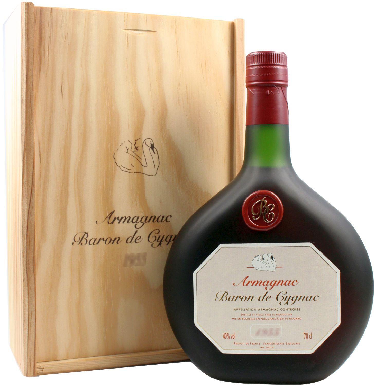 1960er Baron de Cygnac - BAS Armagnac A.O.C. - 40% Vol. 0,70 l