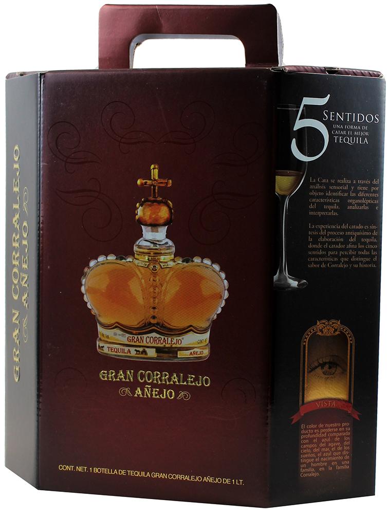 Corralejo Tequila Gran Anejo - Mexiko - 38% Vol.   1,00 l