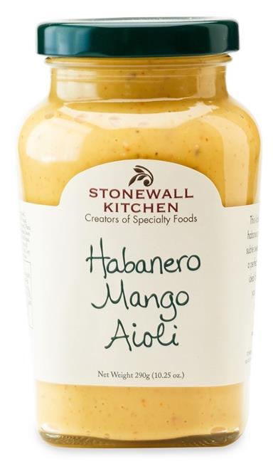 Habanero Mango Aioli - Aioli Creme 290g - Stonewall Kitchen, USA