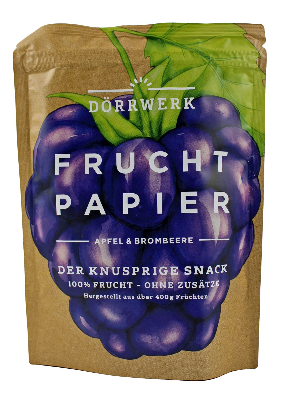 Brombeere Apfel - Fruchtpapier 40g - Dörrwerk, Berlin