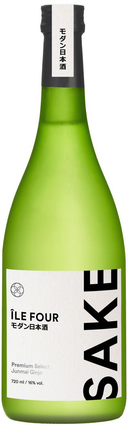 Ile Four Premium Select Sake - Junmai Ginjo - 16,0% Vol.  0,72 l