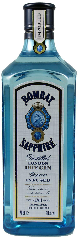 Bombay Sapphire - 40% Vol.  0,70 l - London Dry Gin