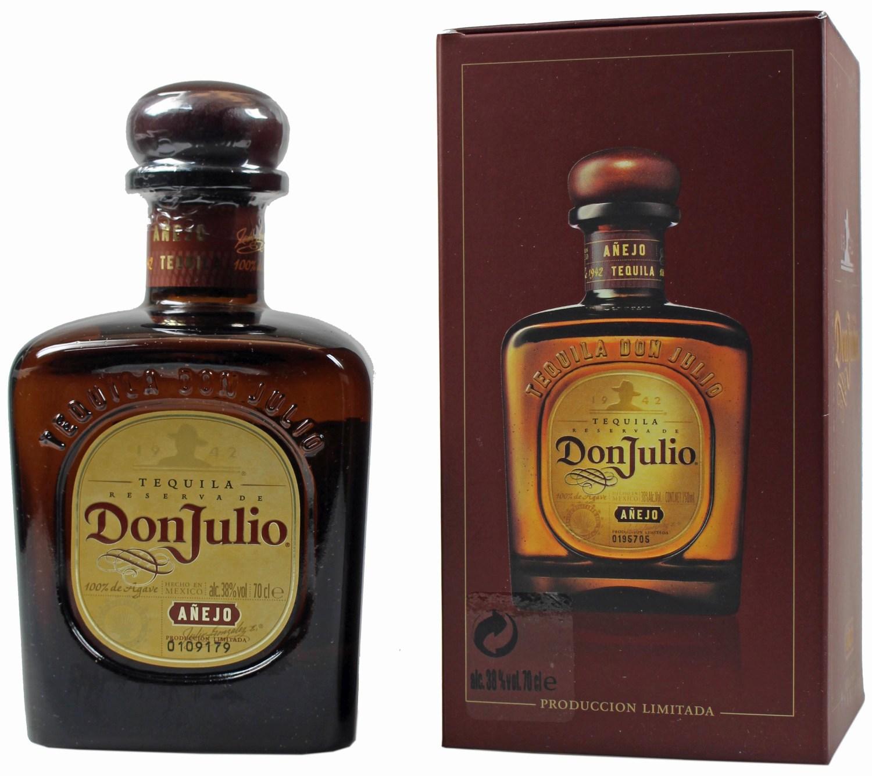 Don Julio - Tequila Anejo - 38%  0,70 l