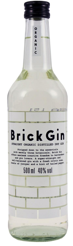 Brick Gin - Straight Organic 40% Vol.  0,50 l - Deutschland, Erfurt