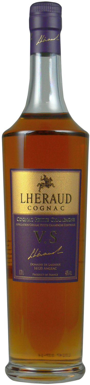 Lheraud V.S. - Fine Petite Champagne - 40% Vol. 0,70 l