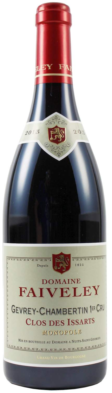 2013er Gevrey Chambertin 1er Cru - Clos des Issarts, Domaine Faiveley - Cote de Nuits, Burgund 0,75 l