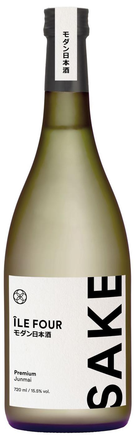 Ile Four Premium Sake - Junmai - 15,5% Vol.  0,72 l