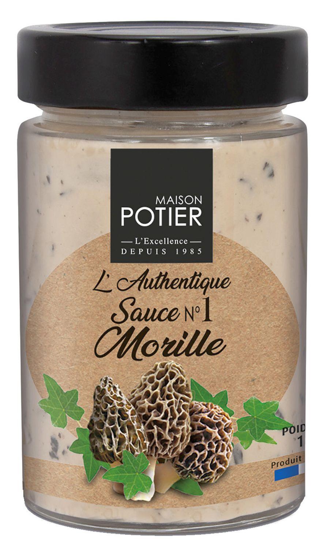 La Sauce Morille - Morchel-Sahnesoße 180g - Potier, Frankreich