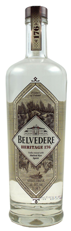 Belvedere Heritage 176 - 40% Vol.  0,70 l - Polen