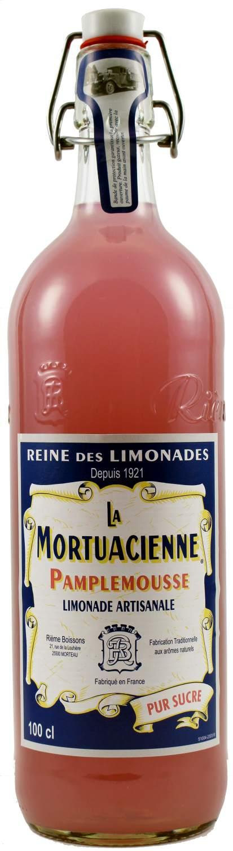 La Mortuacienne - Grapefruitlimonade  1,0 l - Rieme Boissons, Frankreich