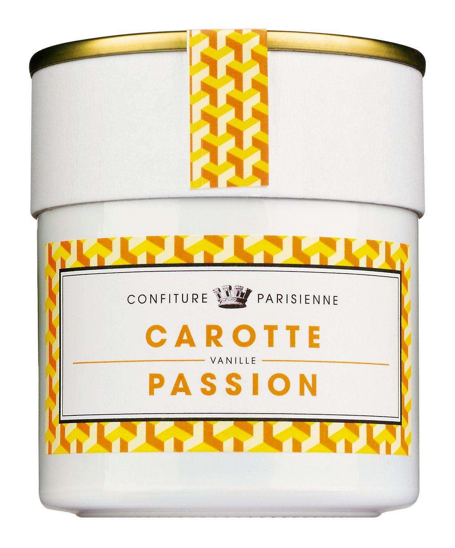 Carotte et Passion - Konfit. mit Karotten u. Passionsfr. 250g - Confiture Parisienne