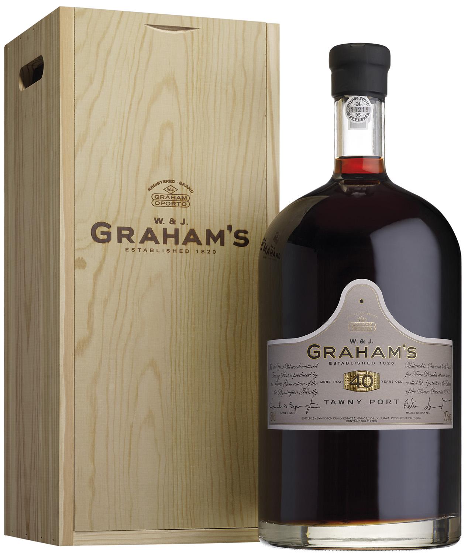 Grahams - 40 Jahre Tawny Port - 20% Vol.  4,50 l