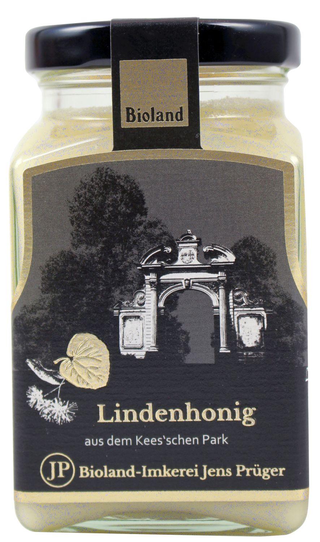 Honig Lindenhonig streichzart - Imkerei Jens Prüger 330g - Honig aus dem Keesschen Park