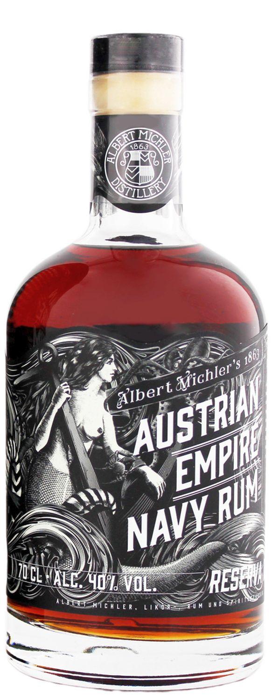 Austrian Empire - Navy Rum Reserva 1863 - 40% Vol.  0,70 l