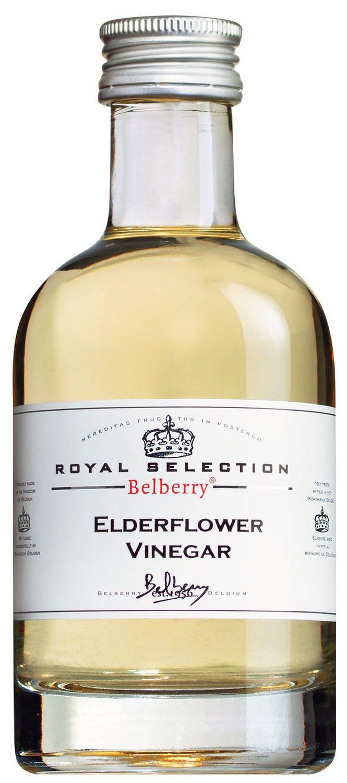 Elderflower Vinegar - Essig mit Holunderblüten - 200 ml Belberry, Belgien
