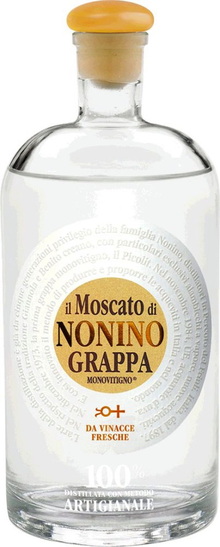 Grappa Il Moscato Monovitigno - Nonino - 41% 0,70 l