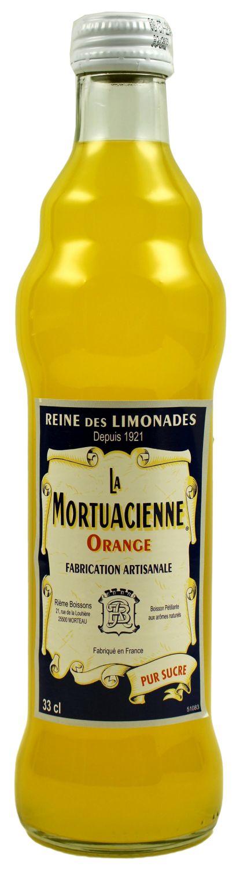 La Mortuacienne - Orangenlimonade  0,33 l - Rieme Boissons, Frankreich