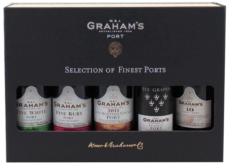 Selection of Finest Ports - Grahams Port - 5 x 0,05 l
