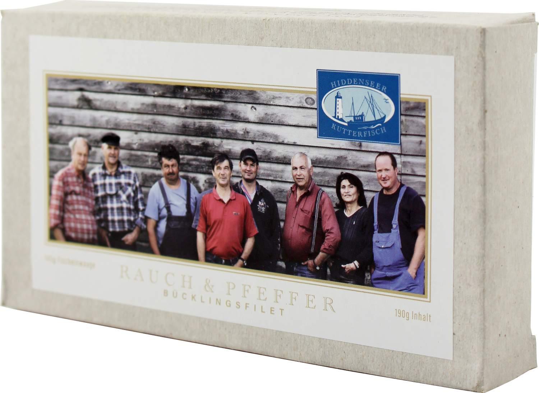 Bücklingsfilet - Rauch & Pfeffer - Hiddenseer Kutterfisch 200g