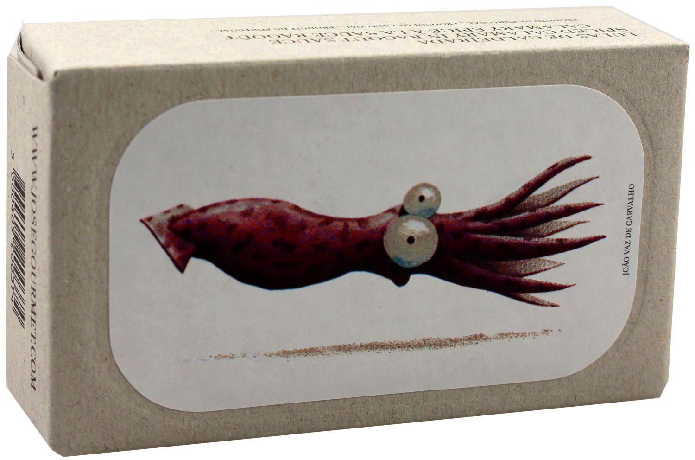Kalmartuben gefüllt und mariniert - Jose Gourmet 120g - Portugal