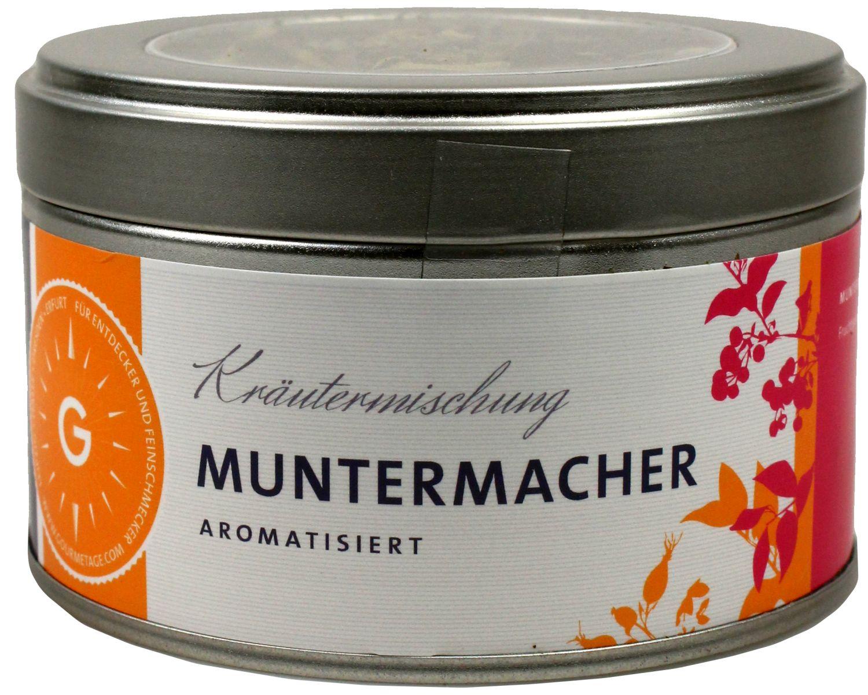 Muntermacher - Kräuterteemischung 50g - Gourmetage Finest Selection
