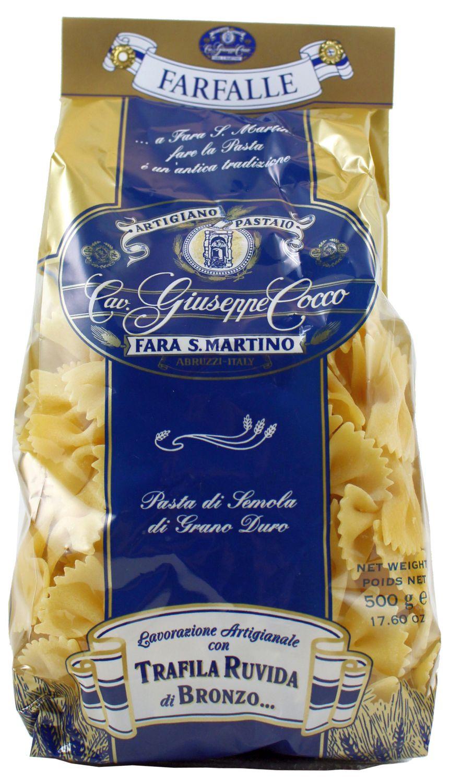 Farfalle - Pasta in Schmetterlingsform 500 g - Guiseppe Cocco