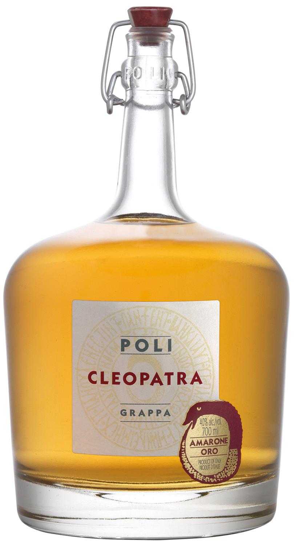 Grappa Cleopatra Amarone Oro - Jacopo Poli - 40% Vol. 0,70 l