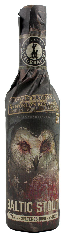 Baltic Stout - Rügener Insel-Brauerei, Rambin - 7,5% Vol.   0,33 l