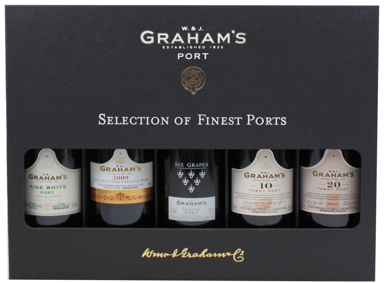 Selection of Finest Ports - Grahams Port - 5 x 0,20 l