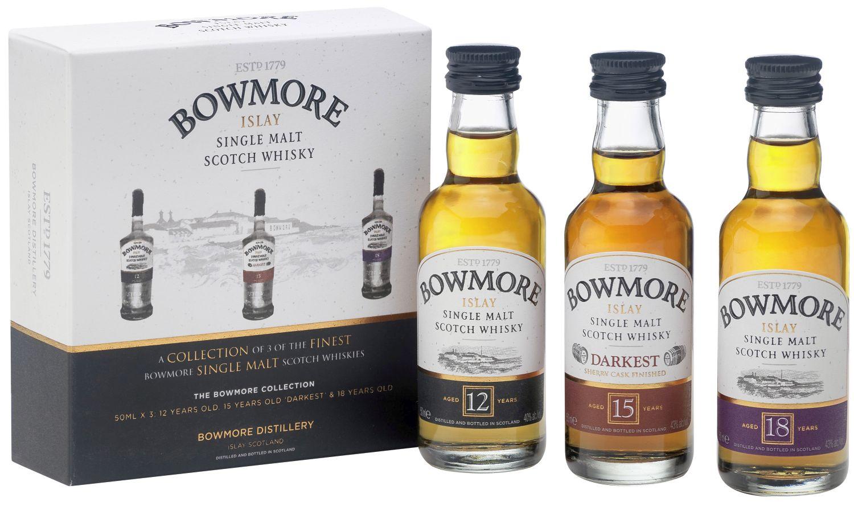 Bowmore Mini Collection - 3 x 0,05 l