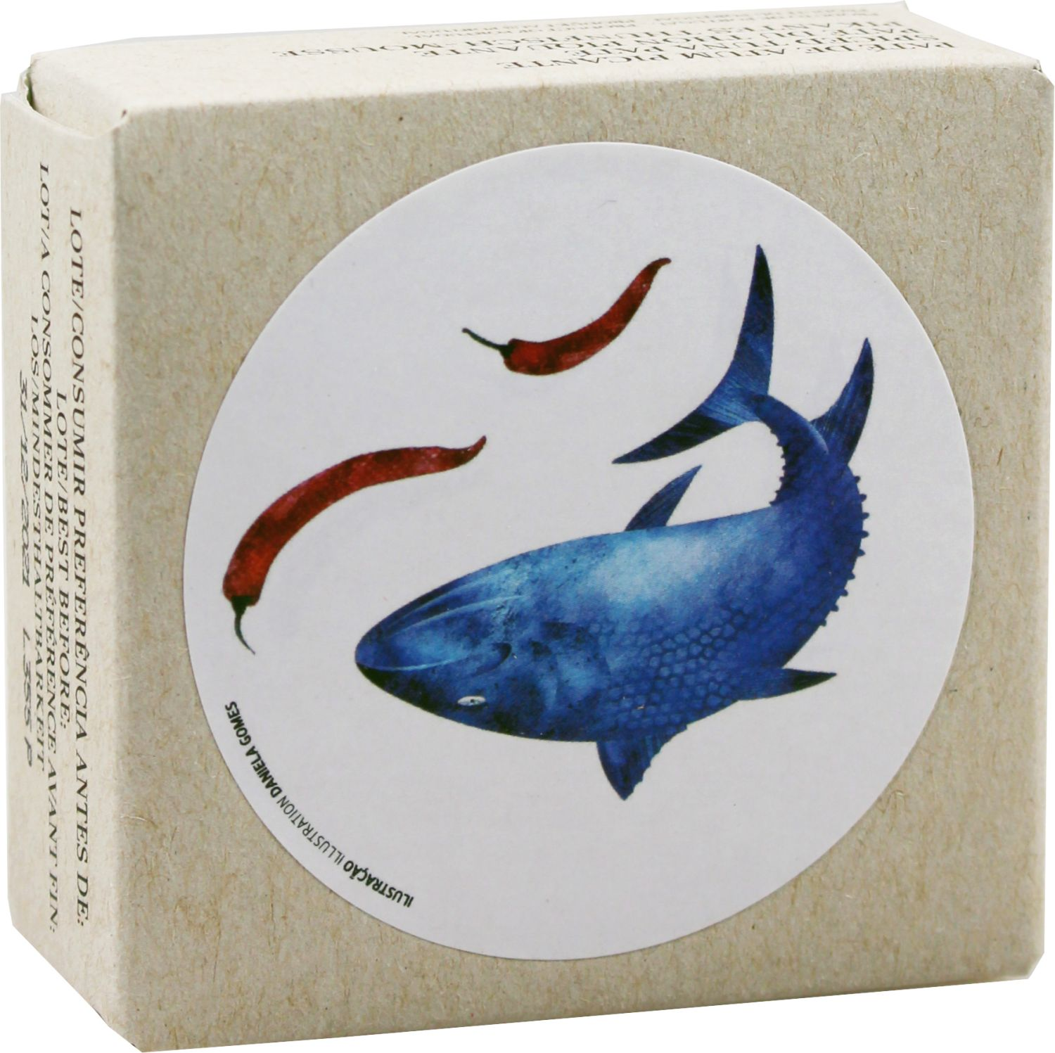 Thunfisch Mousse Pikant - Jose Gourmet 75g - Portugal