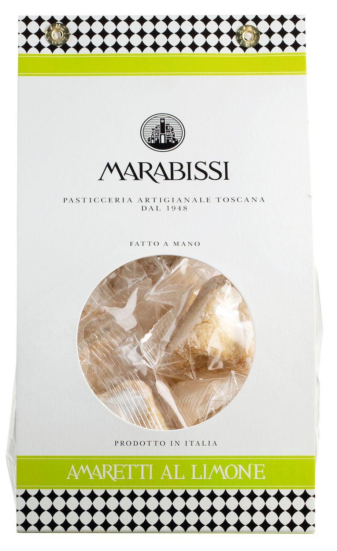Amaretti al Limone - Mandelmakronen mit Zitrone 180g - Vicenzi