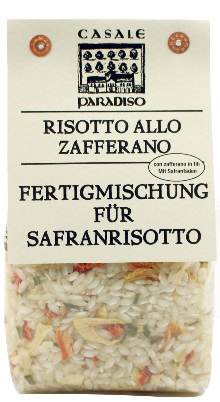 Risotto allo Zafferano - Risotto mit Safran Fäden 300g - Casale Paradiso