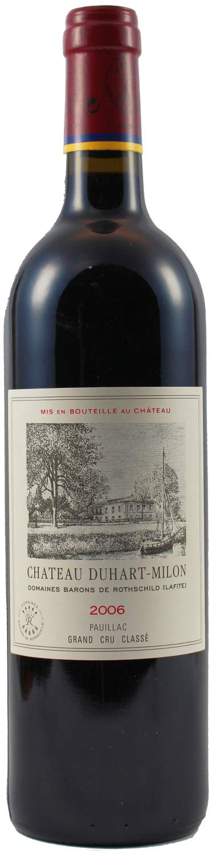 2006er Chateau - Duhart-Milon Rothschild - 4eme Cru Classe Pauillac AC 0,75l