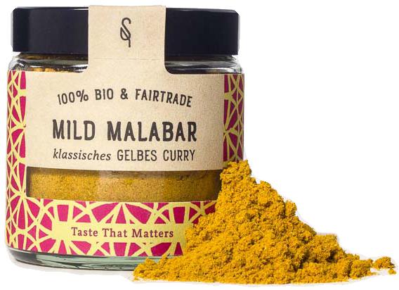 Mild Malabar - Indische Bio Gewürzmischung 50g - SoulSpice